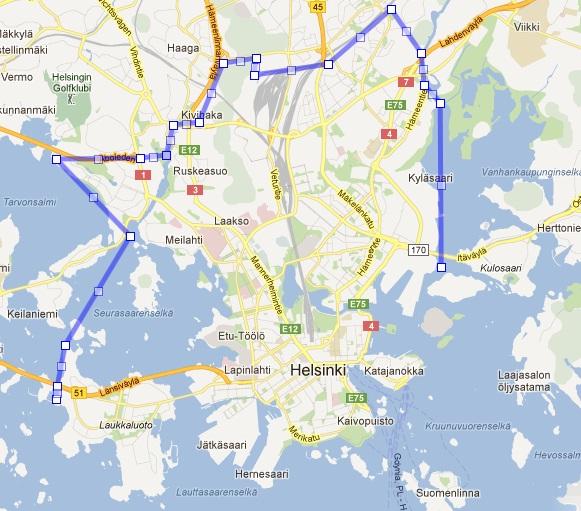 Jos Helsinki olisi rakennettu Alppilan ja Harjun (byrokraatiksi Alppiharjun peruspiirin) tehokkuudella, niin Helsingin rakennettu neliömäärä mahtuisi kuvassa olevan rajan sisään