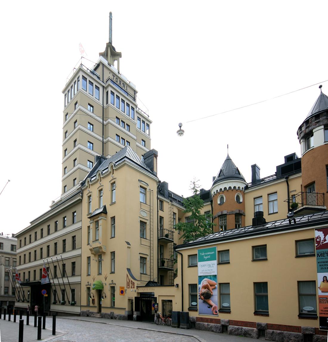 Hotelli Torni (Yrjonkatu 26, Kalevankatu 5)