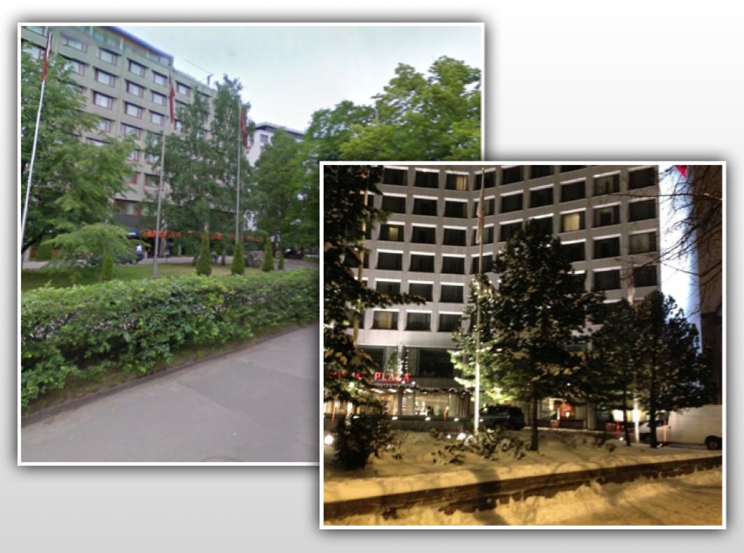 Scandic Continental- ja Crowne Plaza-hotellit Helsingissä