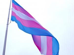 Transsukupuolisten lippu San Fransiscossa