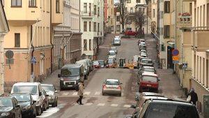 Asukaspysäköinnistä Helsingin kantakaupungissa